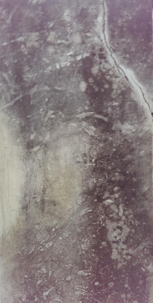Dieses Bild zeigt eine besondere natürliche Patina / Verwitterung, bei der das Gesicht einer Frau auf natürliche Weiße gezaubert wurde…